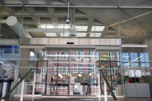 Hamilton Library Entrance Sliding door