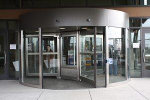 Double Automatic Revolving Door Ottawa, Burlington, London - Double Small Automatic Revolving Door Ontario