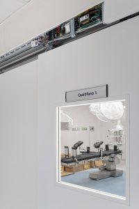 Automatic Door Installation in hospital