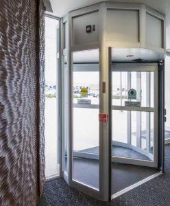 Revolving Entry door Burlington, London, Ottawa - Entrance Systems Ontario